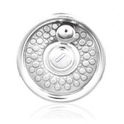 Pewter Fly Reel Hip Flask