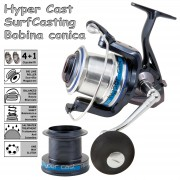 Lineaeffe Hypercast 8010 Pro Series Fixed Spool Beach Casting Reel
